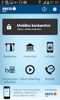 Screenshot of Erste mBanking