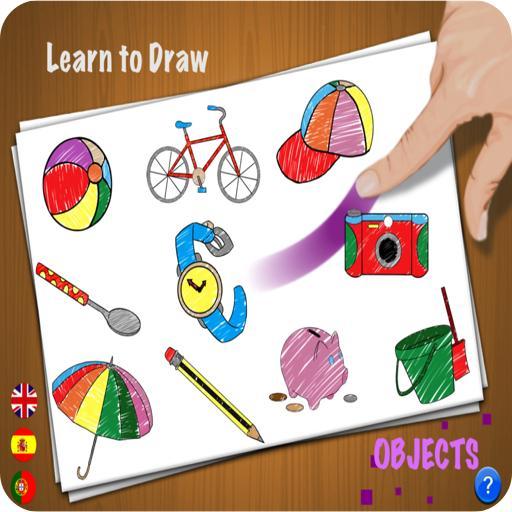 Learn to Draw - Objects LOGO-APP點子
