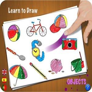 Learn to Draw - Objects 教育 App LOGO-硬是要APP