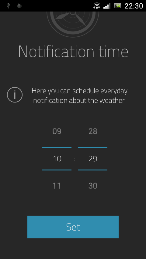 oWeather- screenshot