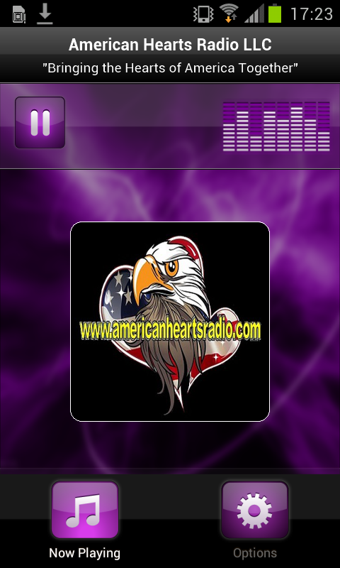 American Hearts Radio LLC- screenshot