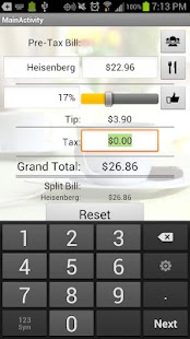 Just The Tip (Tip Calculator)- screenshot thumbnail