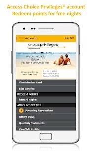Choice Hotels – Book Now! - screenshot thumbnail
