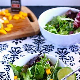 Jicama Mango Salad with Zesty Lime Vinaigrette.