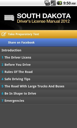 South Dakota Driver's Manual