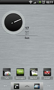 Sleeky Clean ADW Theme screenshot 0
