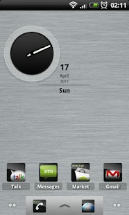 Sleeky Clean ADW Theme screenshot