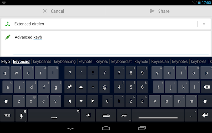 Thumb Keyboard Screenshot 18