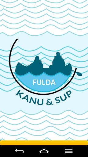 Die Fulda: Kanu SUP
