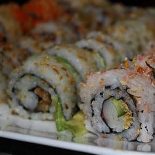 Mom's Sushi Rice.