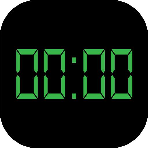 Простые цифровые часы программы → android → часы и будильники.