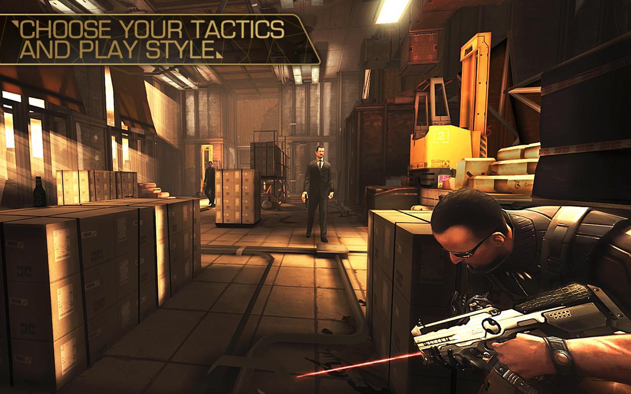 Deus Ex: The Fall screenshot #8