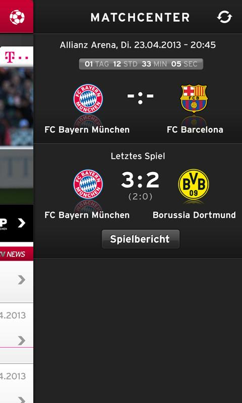 FC Bayern Munich - screenshot
