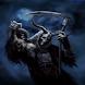 Grim Reaper Skulls Live Wallpa