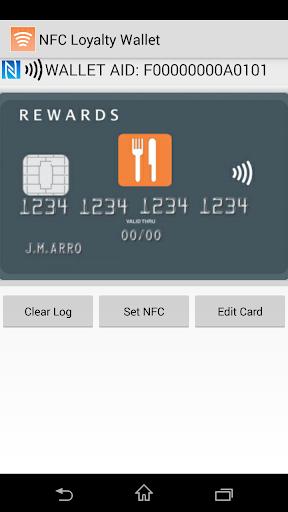 NFC Loyalty Wallet