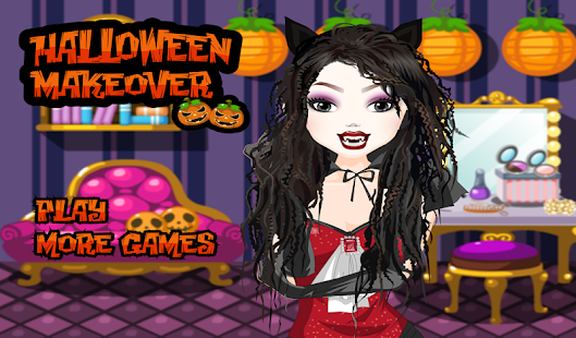 halloween make up games screenshot thumbnail - Halloween Fashion Games