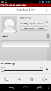 Visual Voice Mail Nexus - screenshot thumbnail
