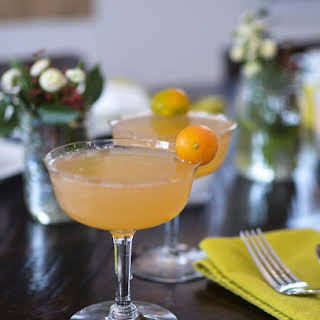 Grapefruit Mimosas for a Crowd.