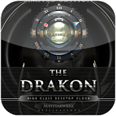 Dragon clock widget