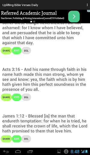 Uplifting Bible Verses Daily