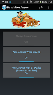 HandsFree Answer Auto Answer