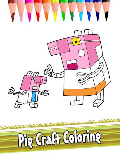 Peppa Craft Coloring