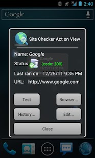 Site Checker- screenshot thumbnail