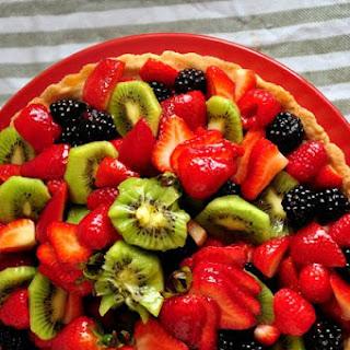 Almond Fruit Tart.