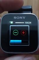 Screenshot of VolumeWidget - Smart Extras™
