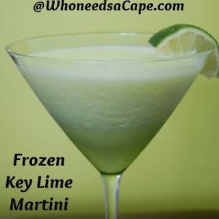 Frozen Key Lime Martini.