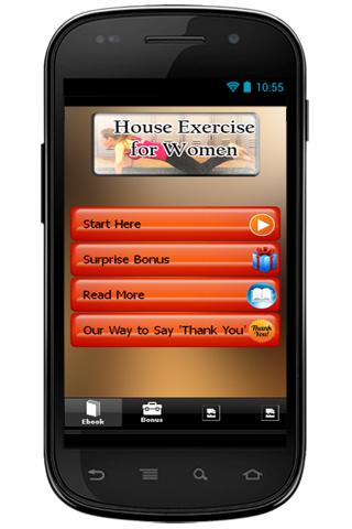 House Exercise For Women