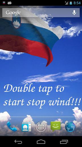 3D Slovenia Flag LWP