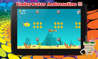 Screenshot of Submarine Infinite Runner War