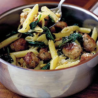 Penne Pasta With Meatballs Recipes.