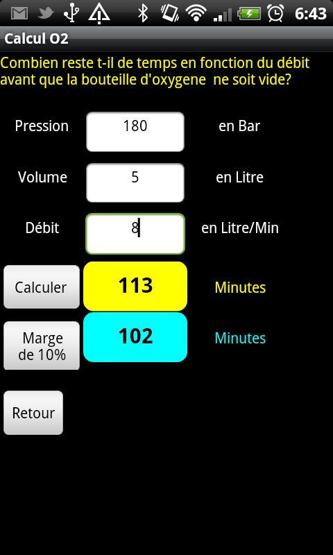 Vte Calc- screenshot