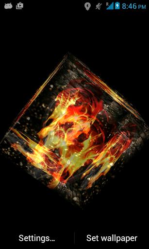 【免費個人化App】3D Rose of Fire LWP-APP點子