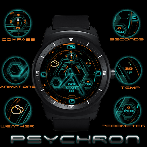 Psychron Watch Face Android Apps On Google Play