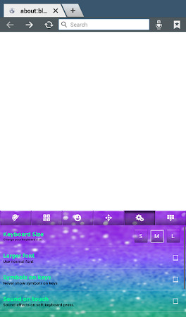 Glitter Keyboard Theme 2.0 screenshot 2012856