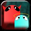 GO SMS Angel Vs Devil Theme icon