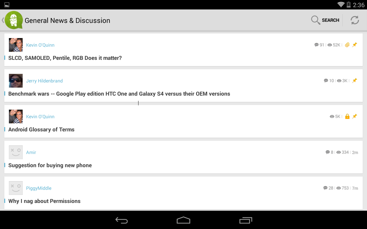 AC Forums App for Android™ - screenshot