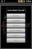 Screenshot of Know Yourself