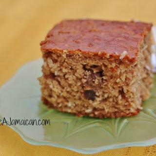 Jamaican Toto Coconut Cake.