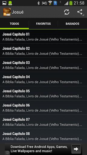 Josué Bíblia Falada Áudio
