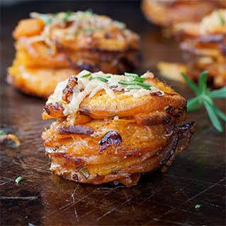 Rosemary Sweet Potato Stackers.