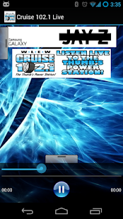 Cruise 102.1 Live - screenshot thumbnail