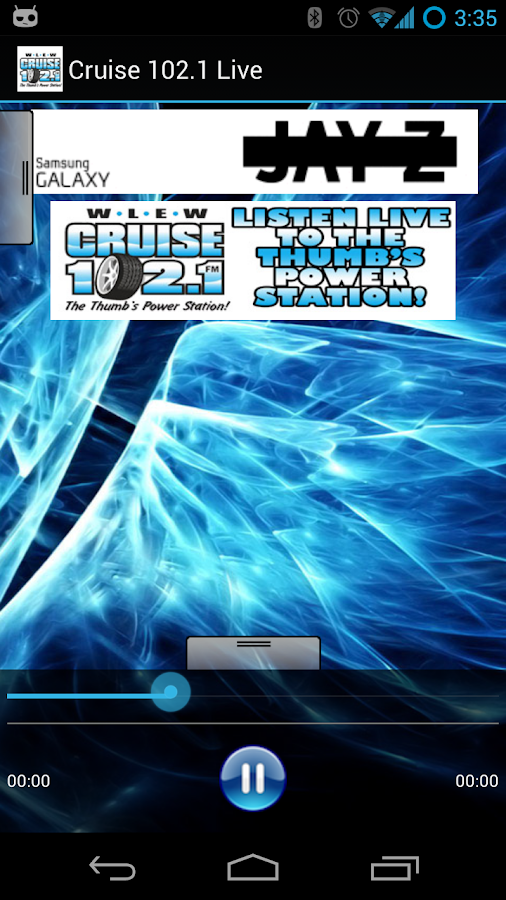 Cruise 102.1 Live - screenshot