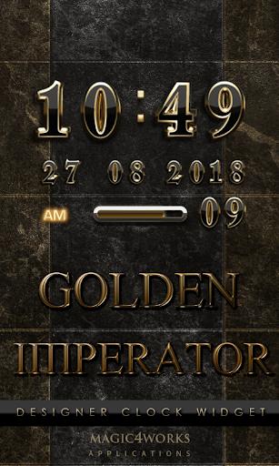 Imperator Digital Clock Widget