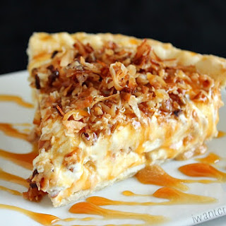 Caramel Coconut Cream Pie