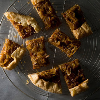 Onion Anchovy Galette