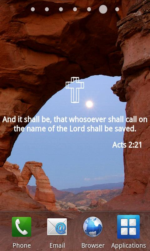 Bible Verses Live Wallpaper- screenshot